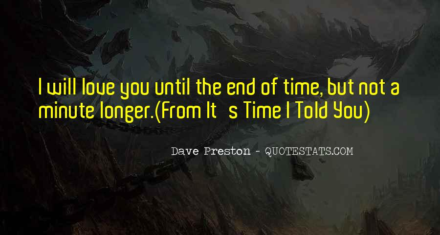 Preston's Quotes #578714