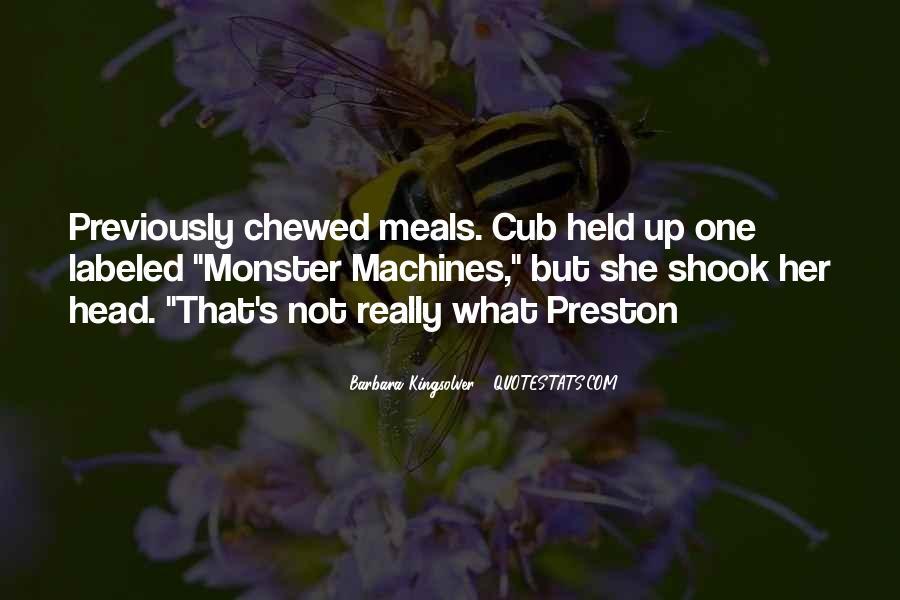 Preston's Quotes #662495