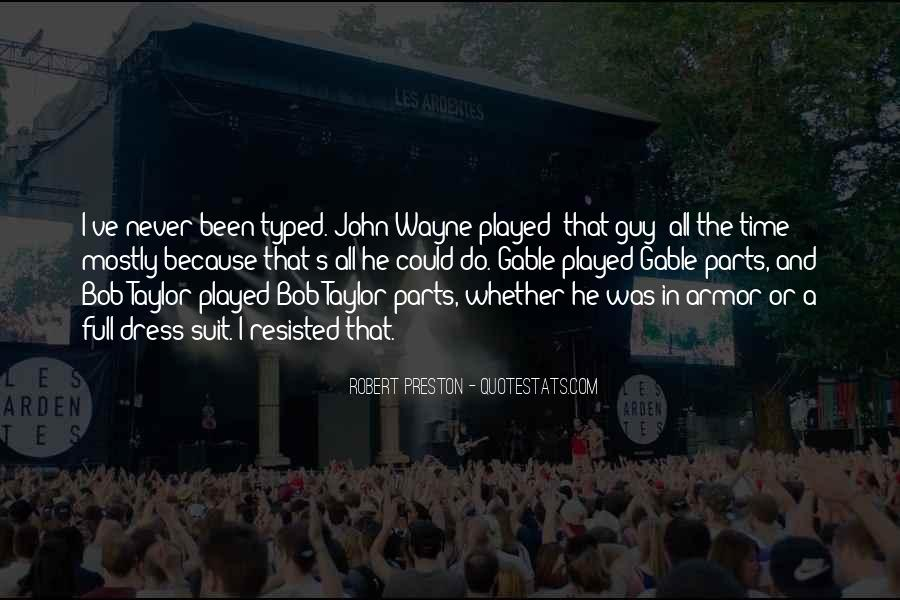 Preston's Quotes #914725