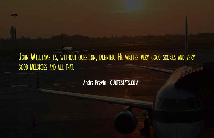 Previn Quotes #270349