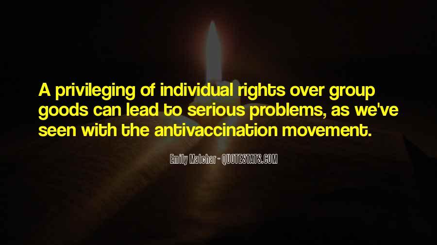 Privileging Quotes #823112