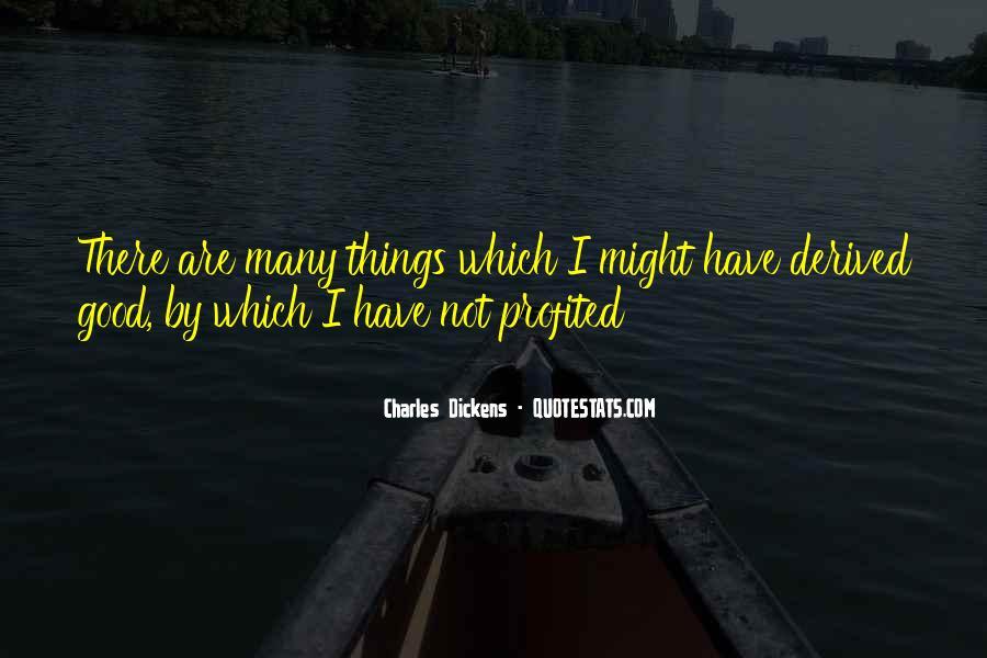 Profited Quotes #234027