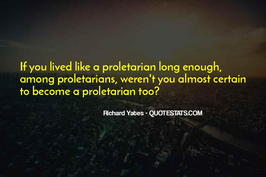 Proletarians Quotes #604031