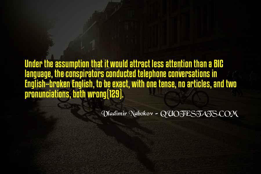 Pronunciations Quotes #1531024