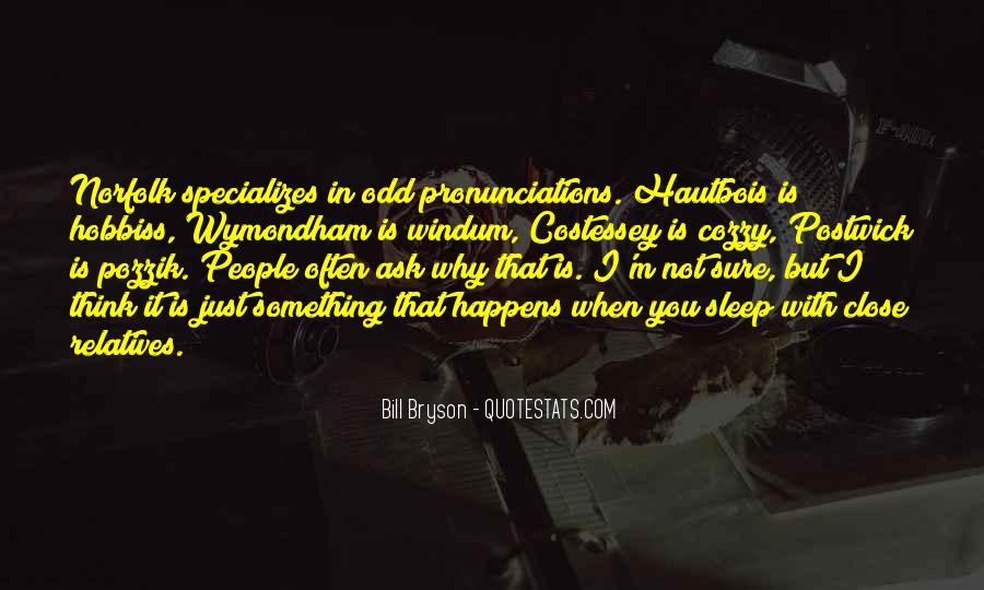 Pronunciations Quotes #925672