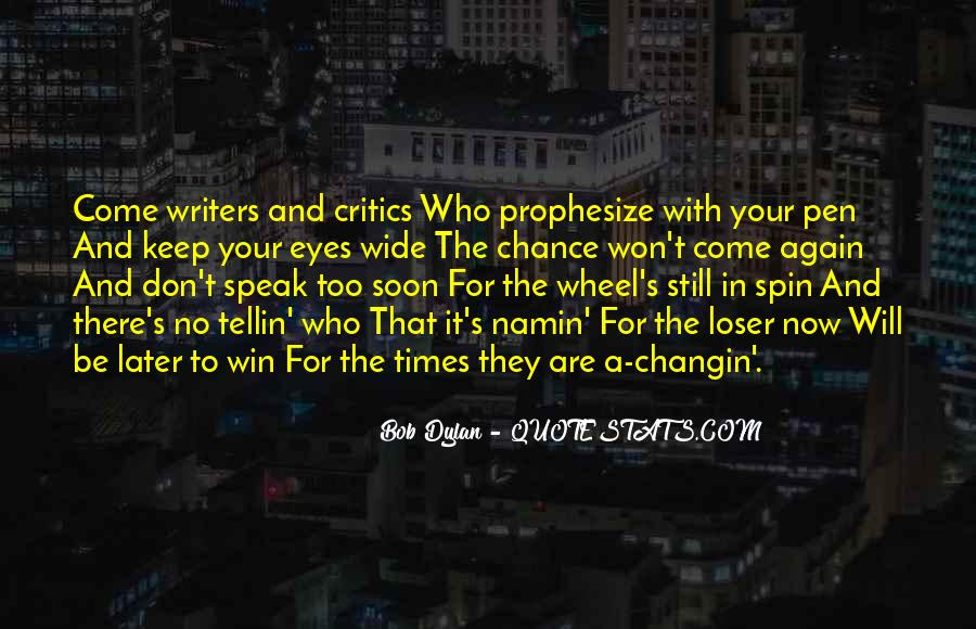 Prophesize Quotes #1275977