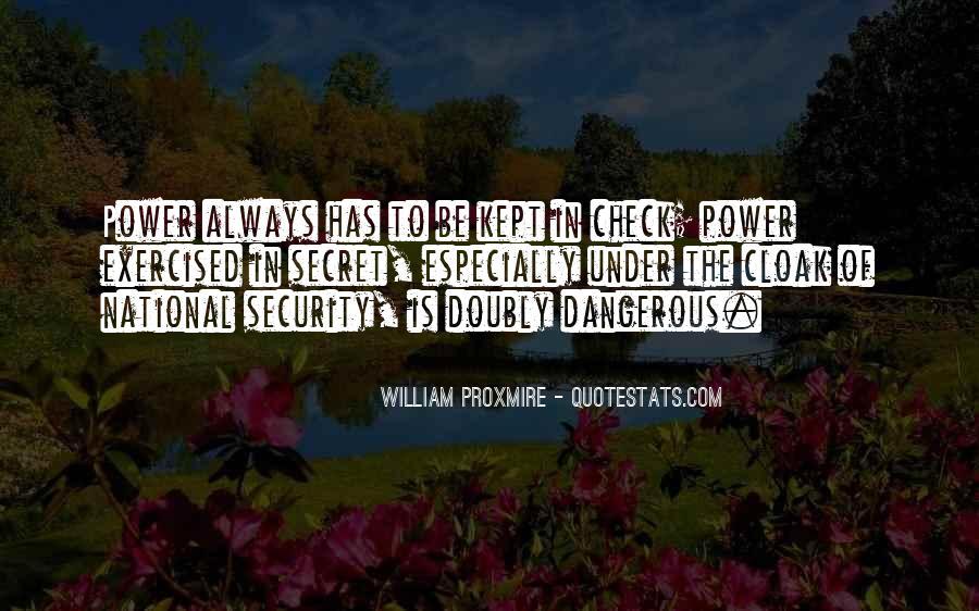 Proxmire Quotes #484261