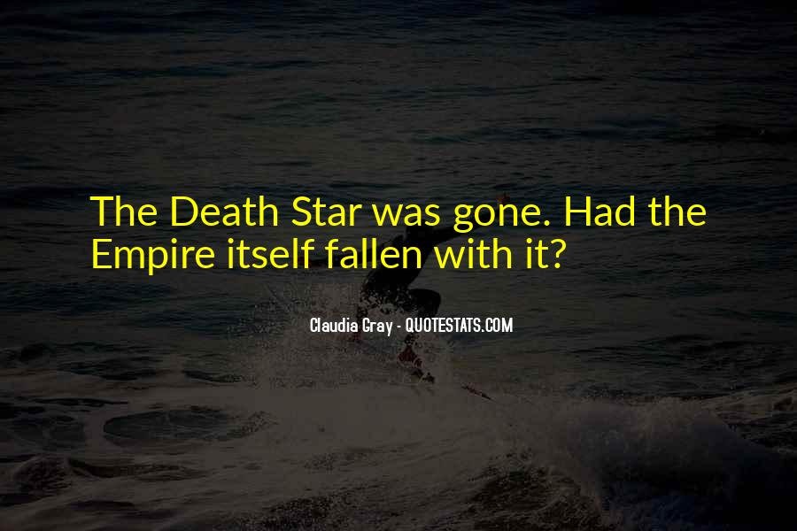 Quotes About The Death Star #1242685