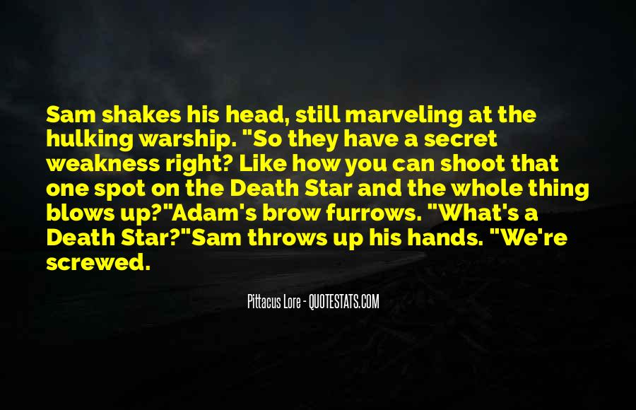 Quotes About The Death Star #937573