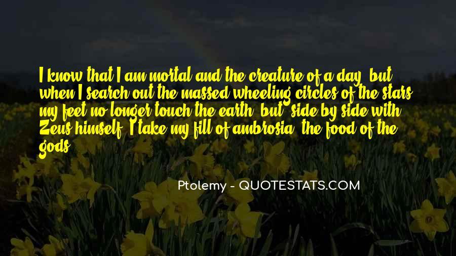 Ptolemy's Quotes #1129847