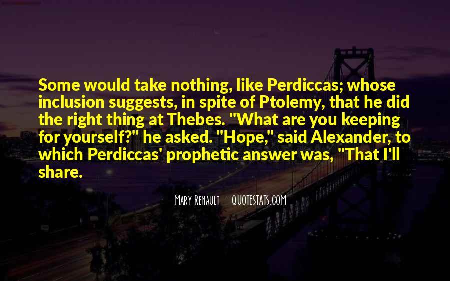 Ptolemy's Quotes #1648115