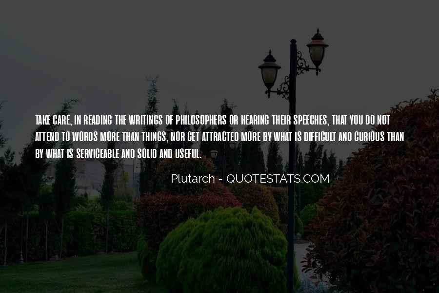 Quotes About Speeches #119320