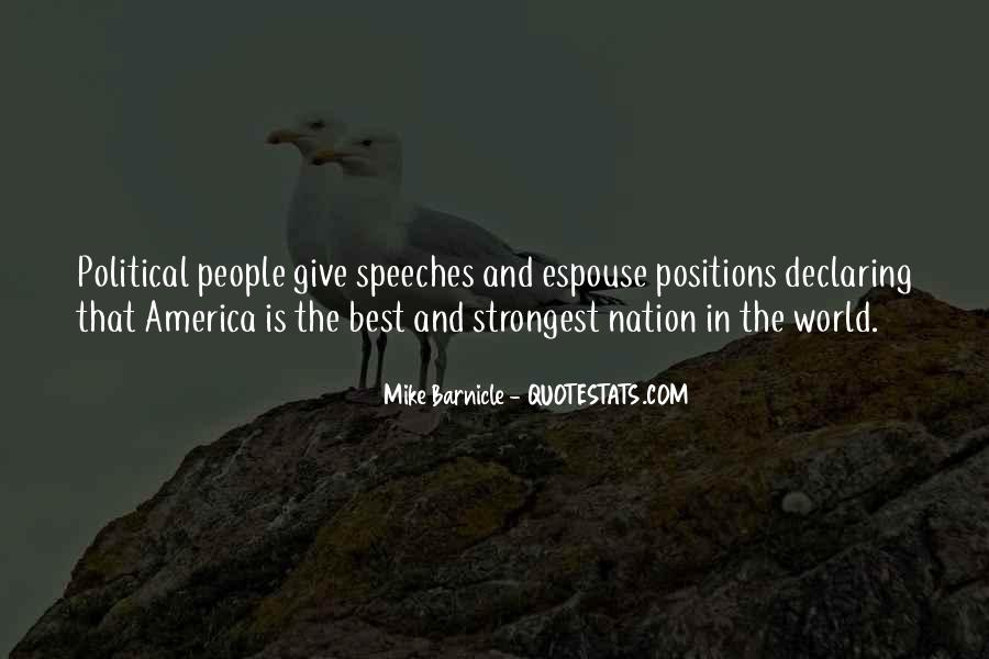 Quotes About Speeches #138802