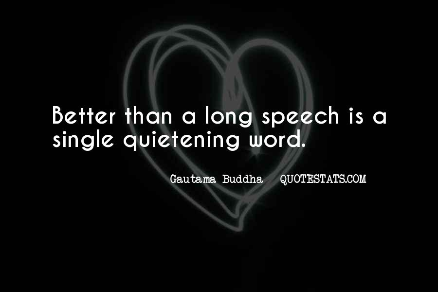 Quotes About Speeches #154422