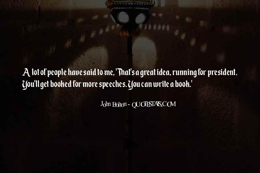 Quotes About Speeches #189588