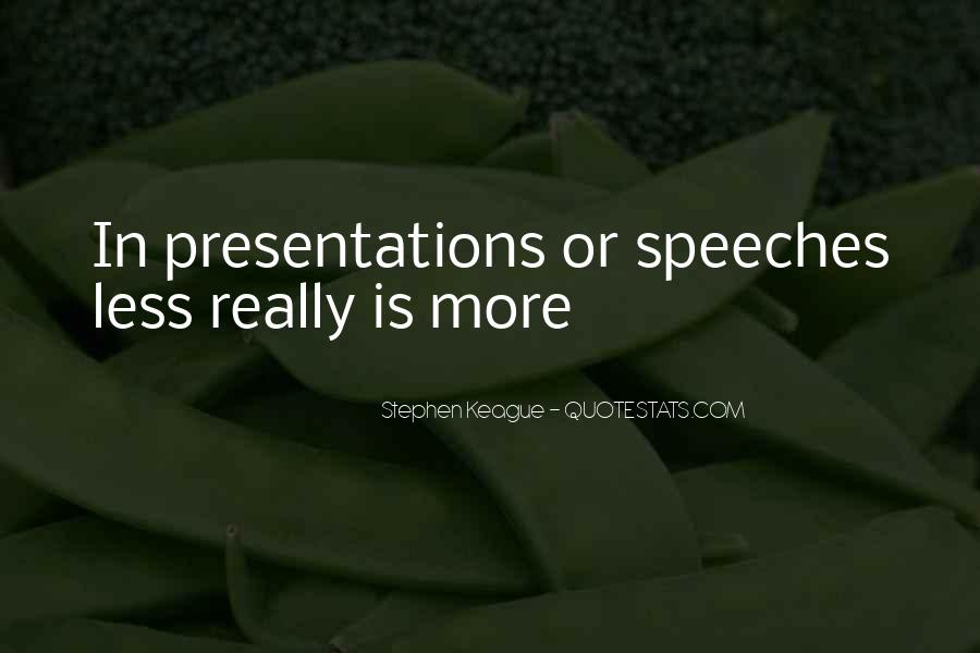 Quotes About Speeches #236824