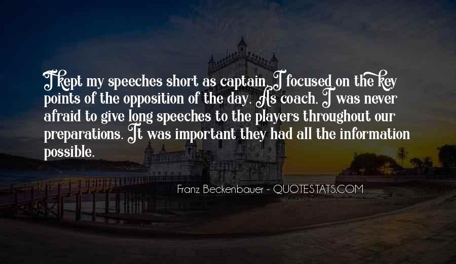 Quotes About Speeches #429842