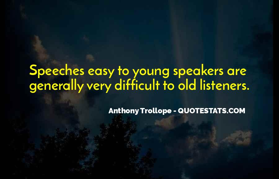 Quotes About Speeches #431665