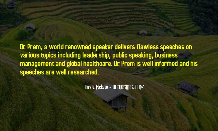 Quotes About Speeches #84079