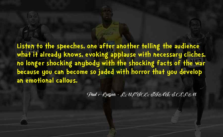 Quotes About Speeches #90409