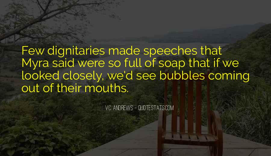Quotes About Speeches #91271
