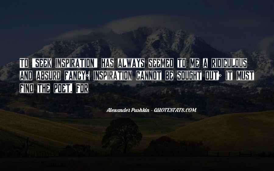 Pushkin's Quotes #1041376