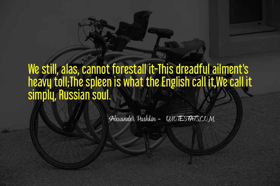 Pushkin's Quotes #1273093