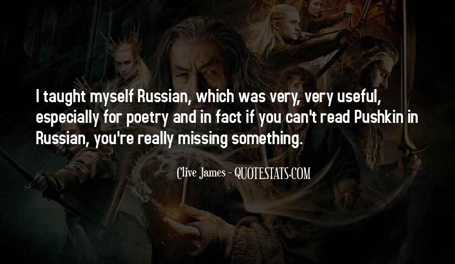 Pushkin's Quotes #1295884
