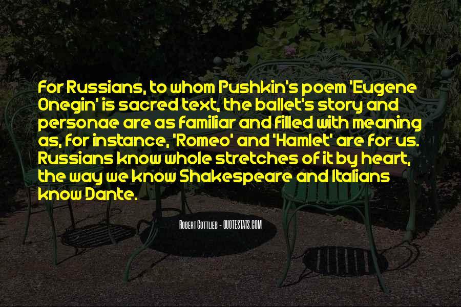 Pushkin's Quotes #1636215