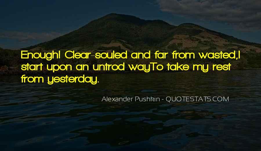 Pushkin's Quotes #191535
