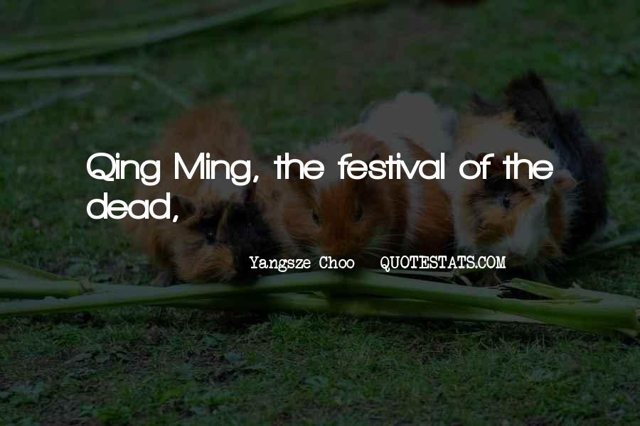 Qing Quotes #210059