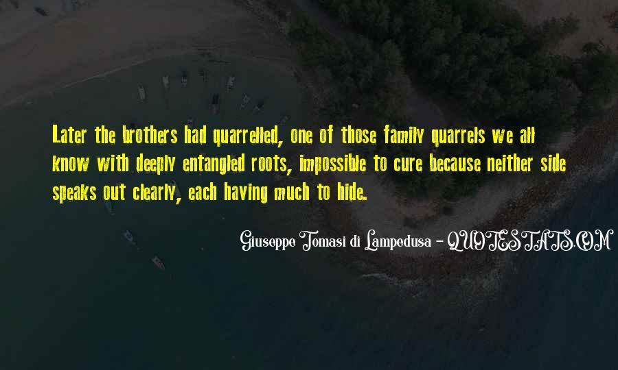 Quarrelled Quotes #255953
