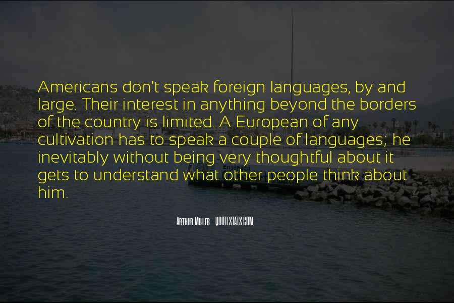 Quotes About Being In A Foreign Country #1268556