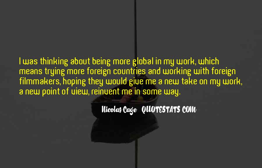 Quotes About Being In A Foreign Country #720616
