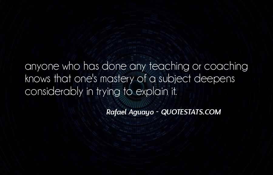 Rafael's Quotes #1012896