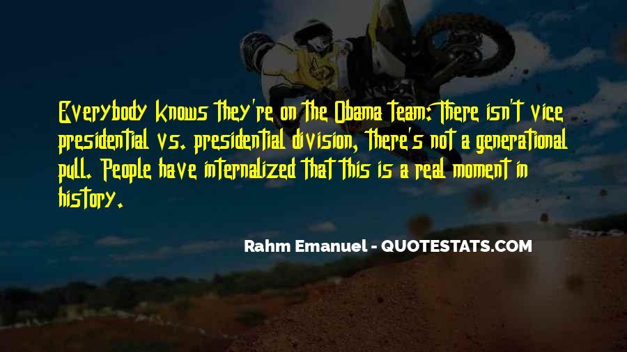 Rahm Quotes #1481620