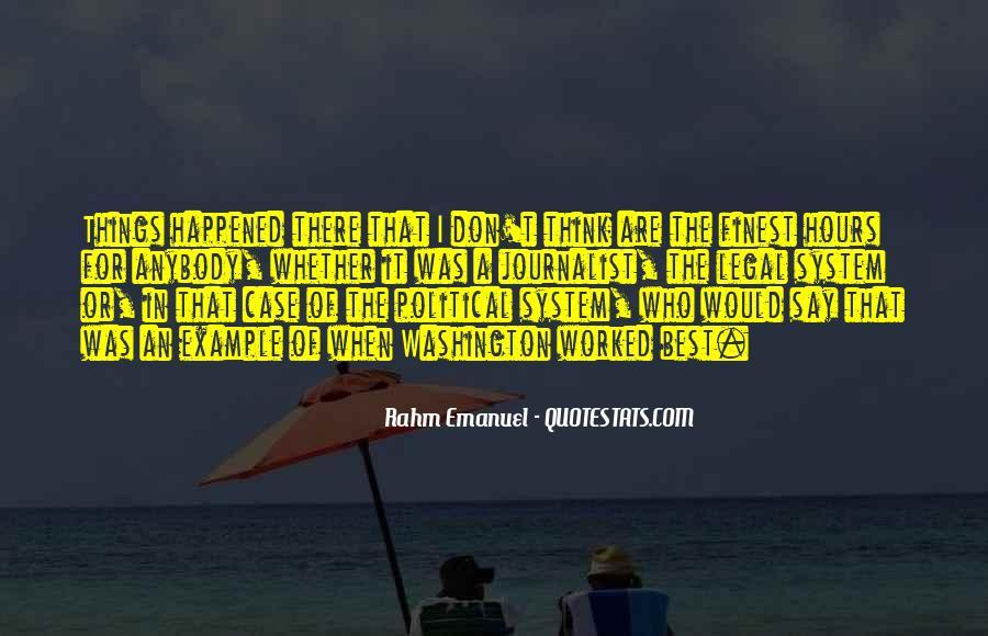 Rahm Quotes #1548954