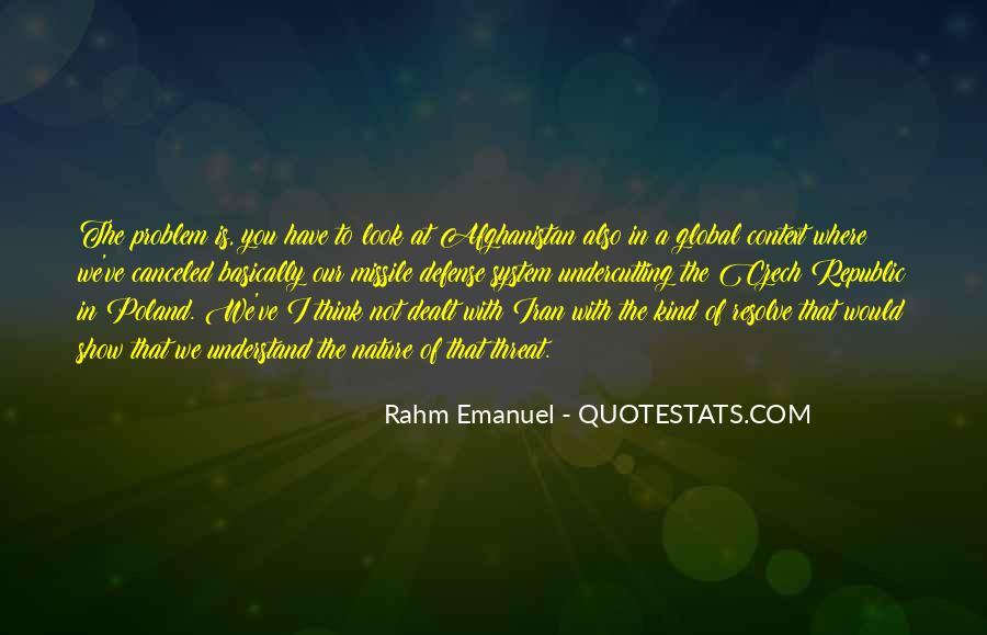 Rahm Quotes #194148