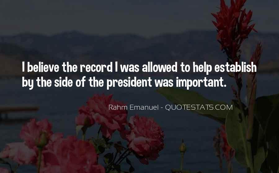 Rahm Quotes #554519