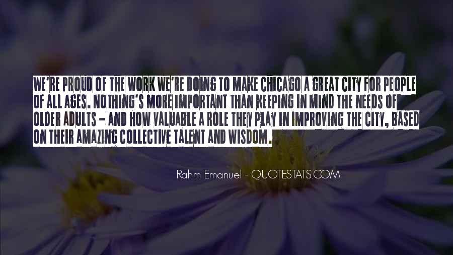 Rahm Quotes #734765