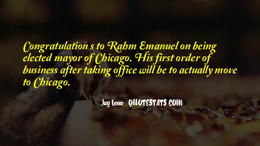 Rahm Quotes #856140