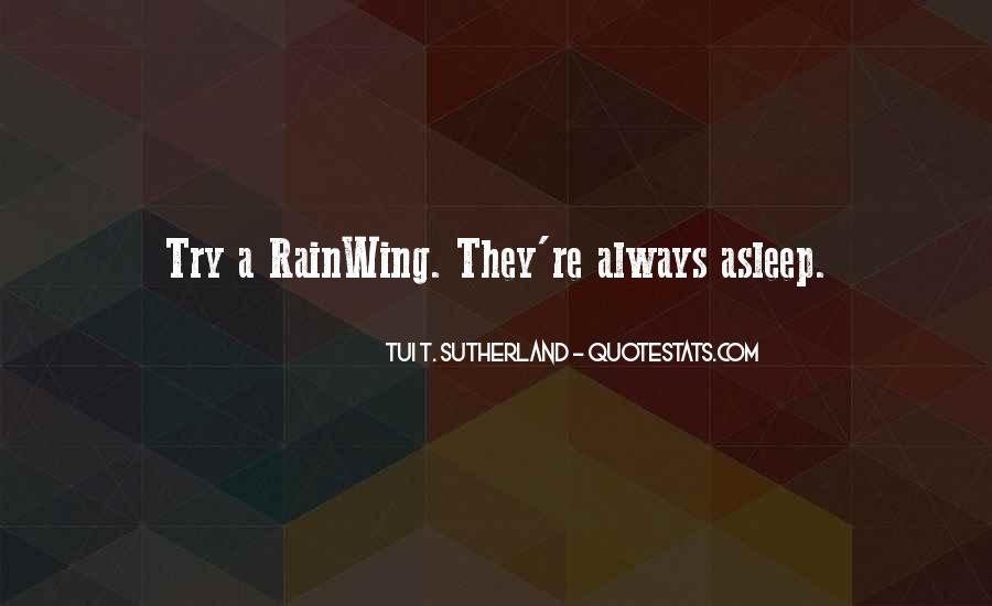 Rainwing Quotes #1492446