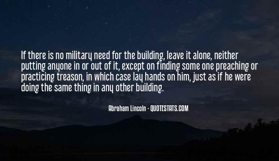 Quotes About Building With Your Hands #1177695