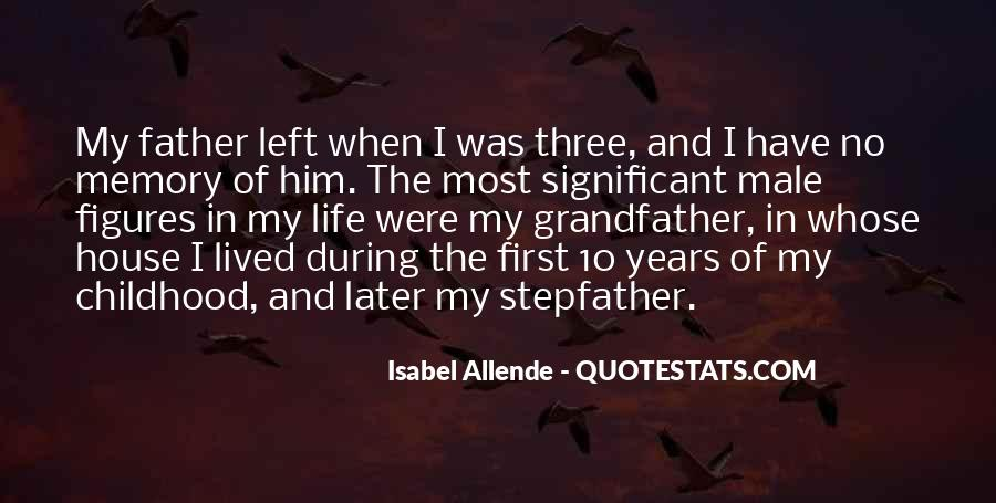 Quotes About Memory Of Father #1486404