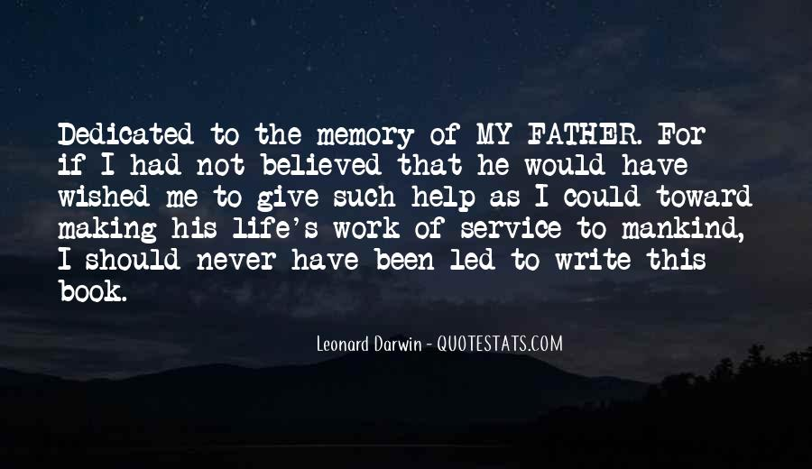 Quotes About Memory Of Father #171518