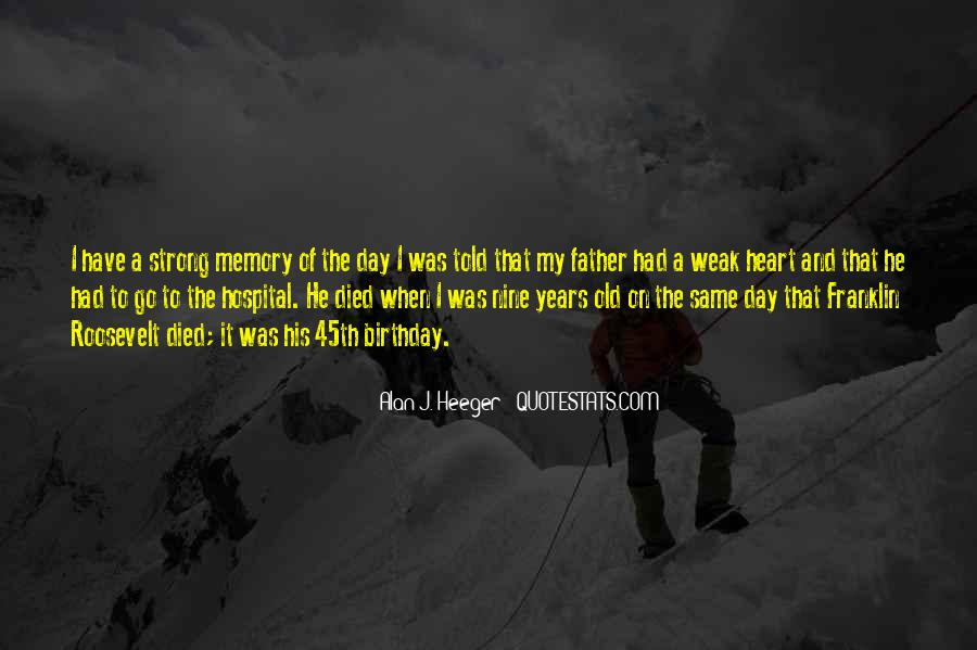Quotes About Memory Of Father #450663