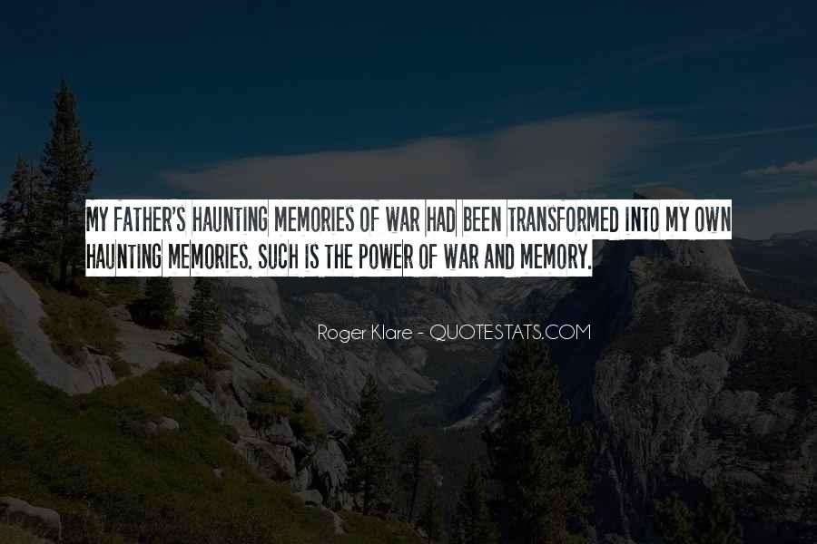 Quotes About Memory Of Father #745546