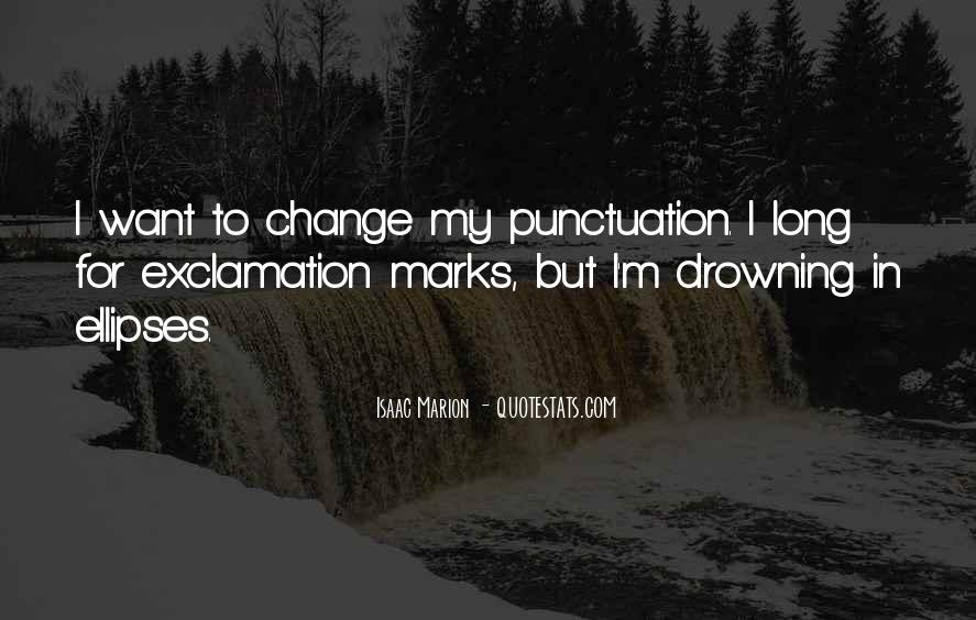 Quotes About Exclamation Marks #520308