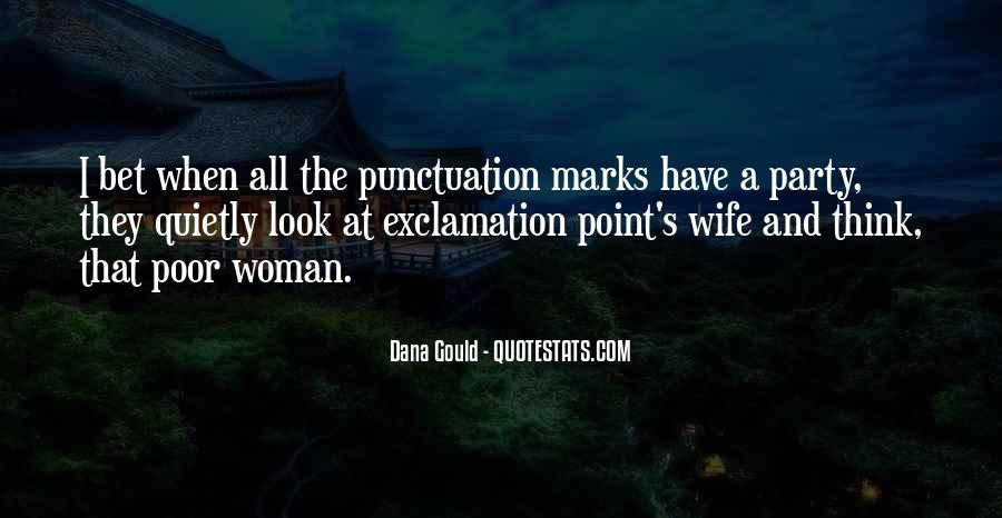 Quotes About Exclamation Marks #545250