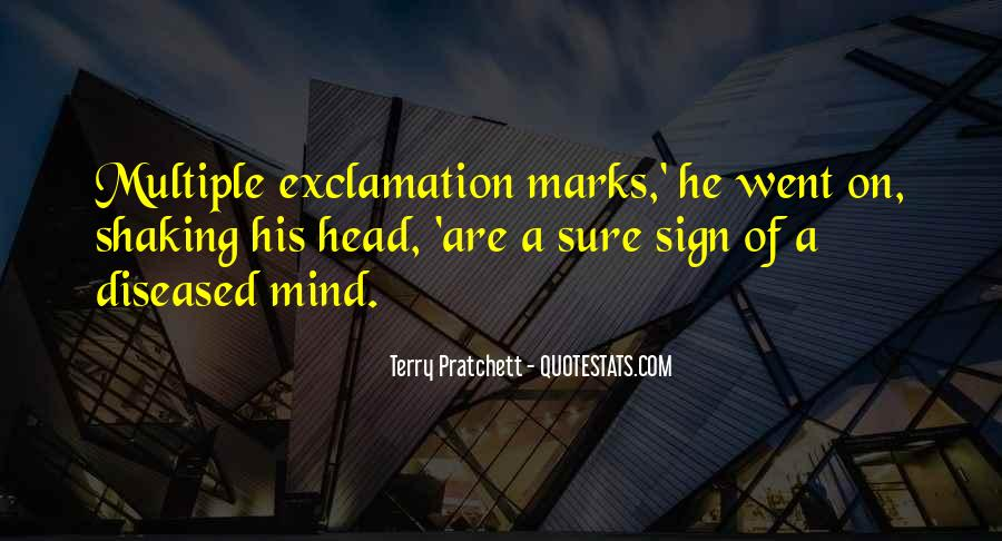 Quotes About Exclamation Marks #892325
